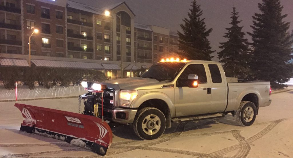 jhc snow removal truck