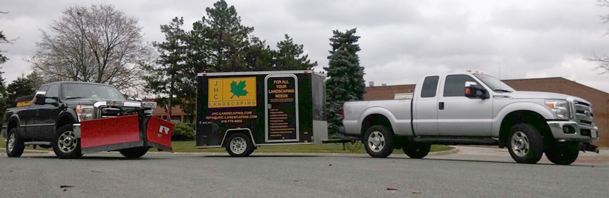 jhc landscaping trailer