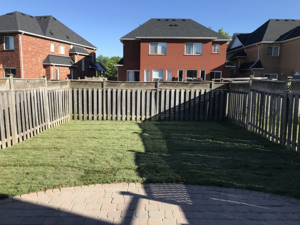 sodding and interlocking project after - landscaping companies in richmond hill