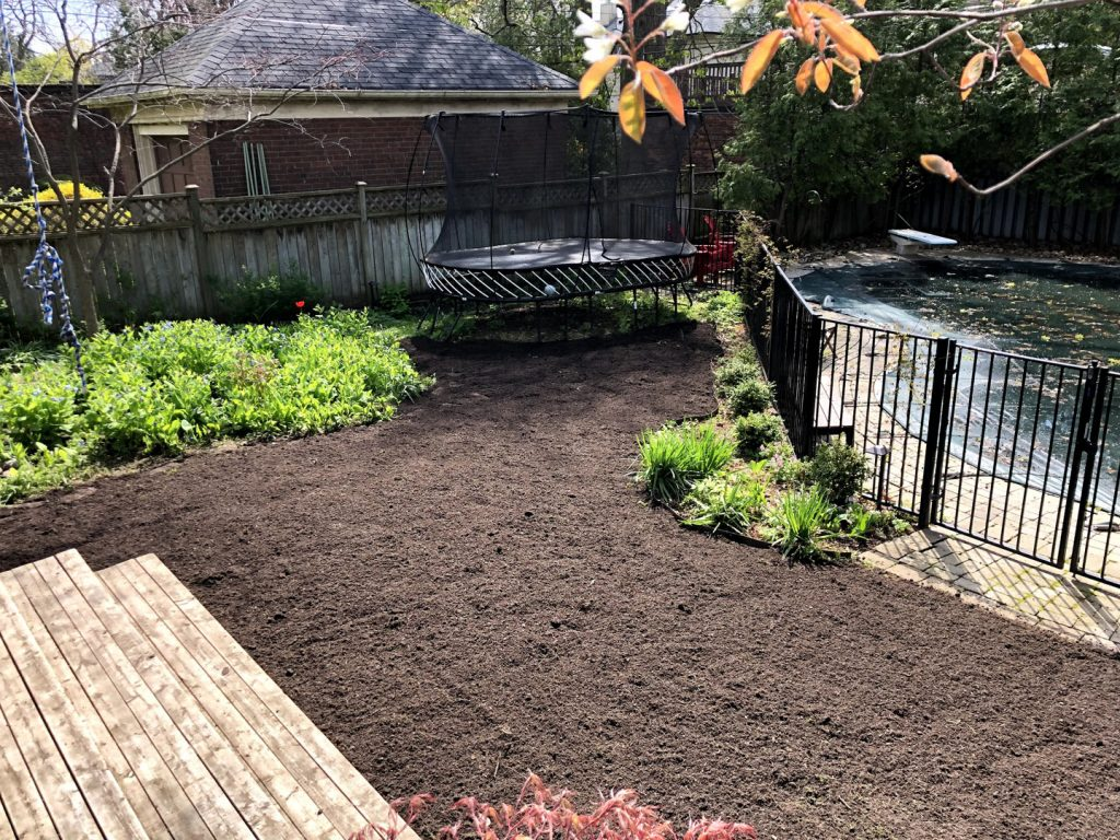 old lawn removal, sodding and landscaping - best lawn care toronto