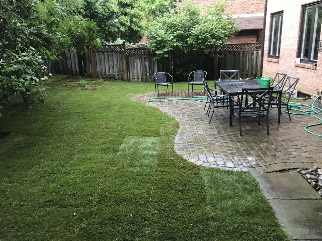 King City Sodding Services by JHC Landscaping